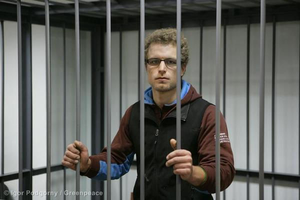 Marco Paolo Weber At The Leninsky District Court Of Murmansk