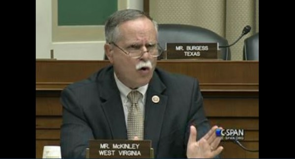 Rep. David McKinley got a lot wrong yesterday.
