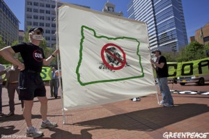 Portland Rally Against Coal Exports