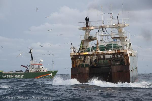 Action against Trawler in North Atlantic