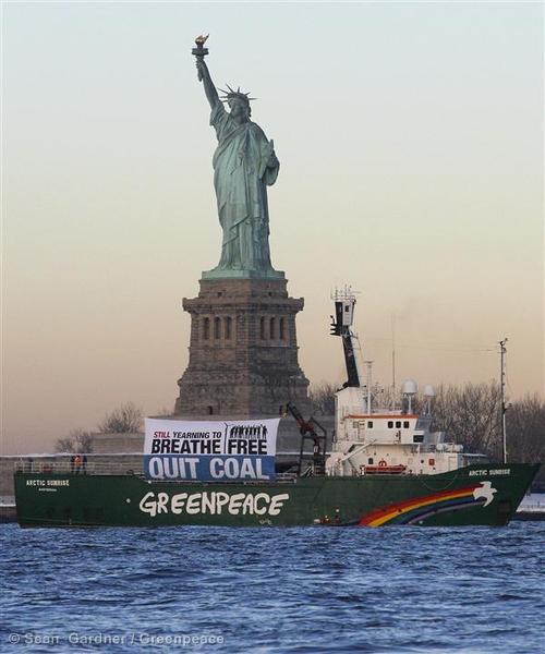 Coal Free Future Tour in New York City