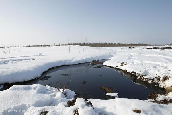 Oil Spill in Western Siberia