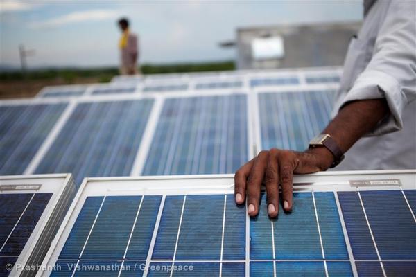 Solar-powered Reverse Osmosis Plant
