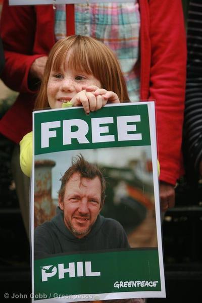 'Arctic 30' Global Day of Solidarity in London