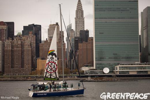 Arctic 30 Sailing Protest