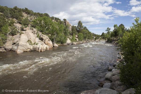 Scenic Landscape in Colorado