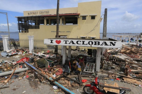 Aftermath of Typhoon Haiyan in the Philippines
