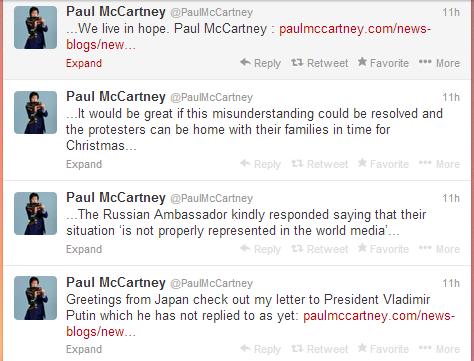 PaulMcCartneyTweets