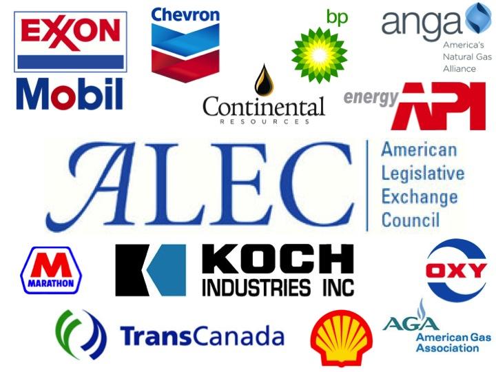 ALEC petrochemical member companies
