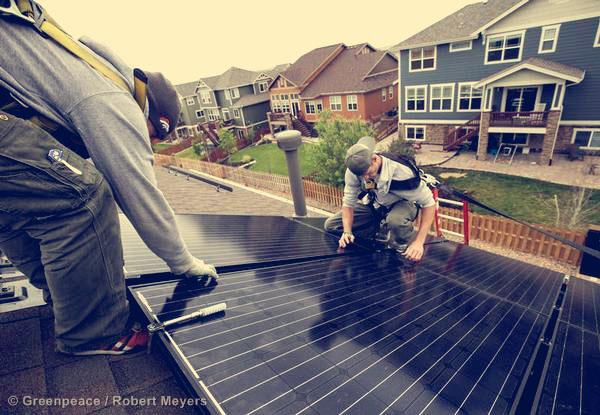Rooftop Solar Installation in Colorado