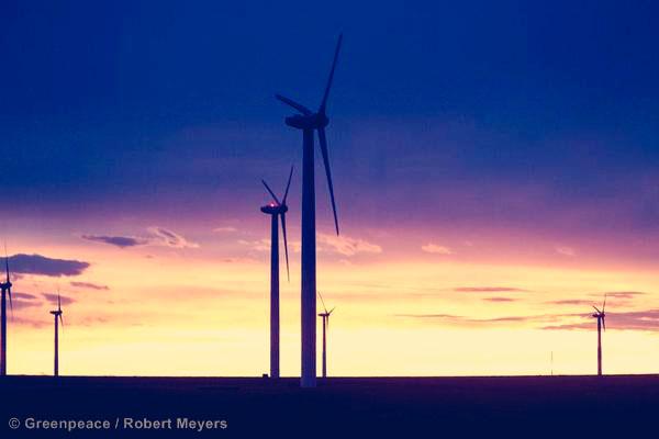 Wind Energy Farm in Colorado