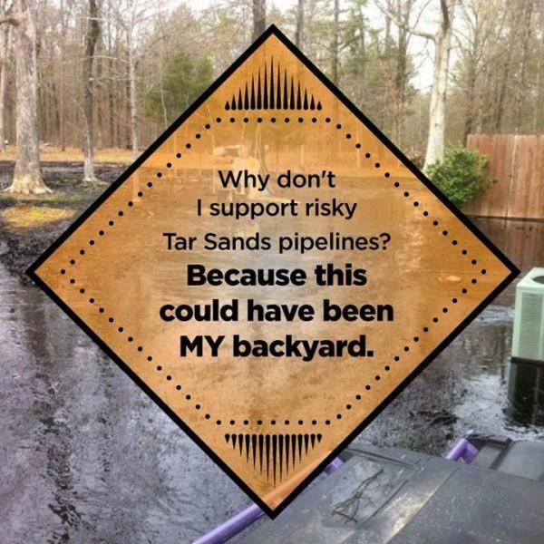 Arkansas Spill Backyard
