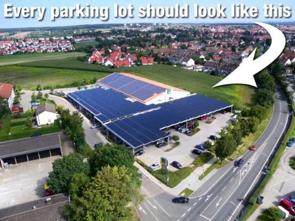 solar parking lot