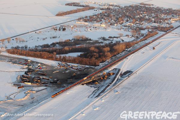 North Dakota Oil Train Derailment