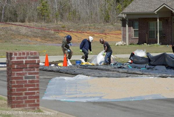 Exxon Pipeline Oil Spill in Arkansas