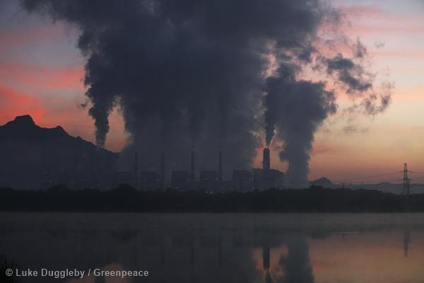The Mae Moh Coal Burning Power Plant in Thailand. Its 13 generating units have a capacity to produce 2,625 megawatts and take up 135 sq km of land. It is the largest coal plant in Southeast Asia.