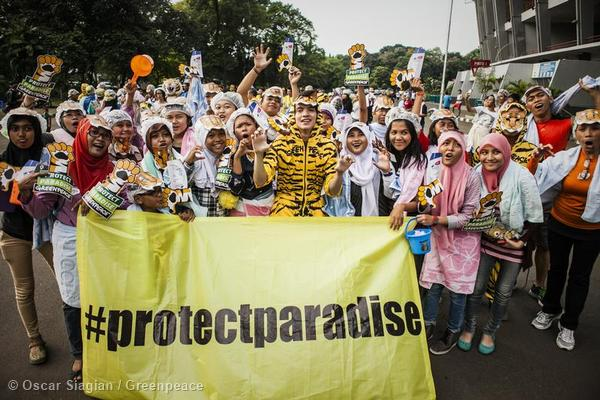 Global Day of Action to Protect Paradise in Jakarta