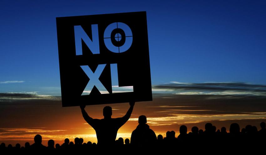 keystone pipeline protestors