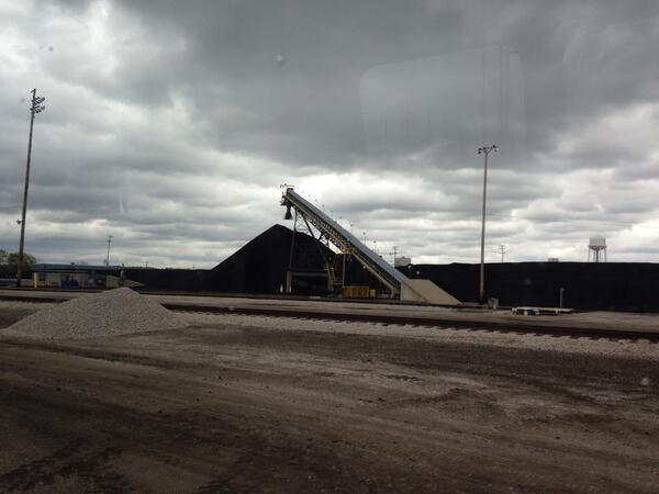 ALEC rep vicky steiner coal pile Kansas City