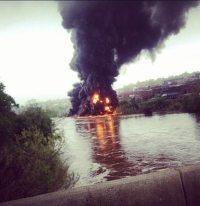 Virginia Bomb Train Explodes