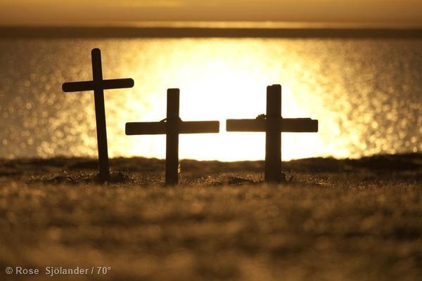 Graves in Alaska