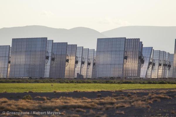 Alamosa Solar Generating Plant, a 30 megawatt concentrating photovoltaic power plant near Alamosa, CO.