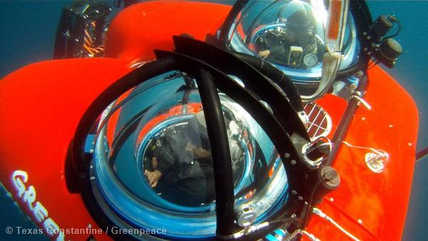 Submersible Operations in Bering Sea