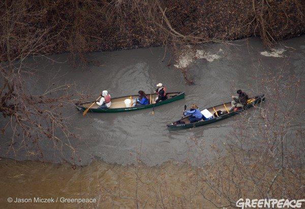 Duke Energy Coal Ash Spill in North Carolina