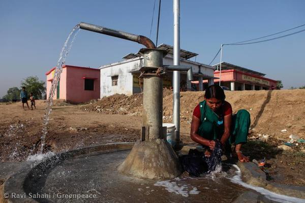 Dharnai Village in India