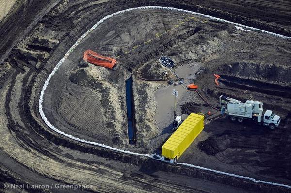 North Dakota Pipeline Oil Spill