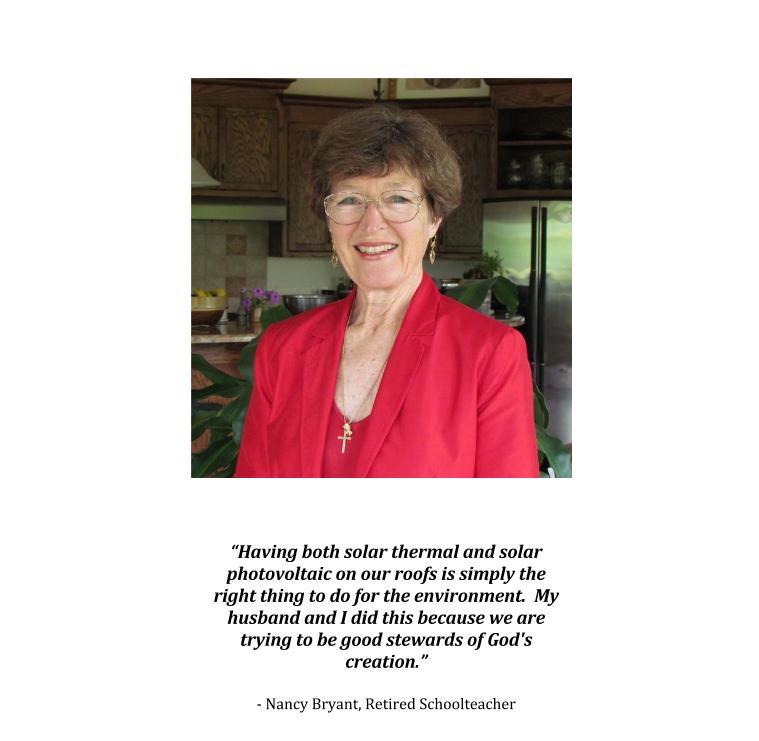 Nancy Bryant Solar Story