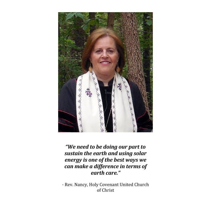 Rev. Nancy Solar Story