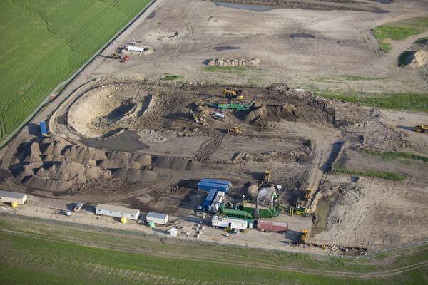 Oil Spill Thermal Desorption Clean Up In North Dakota