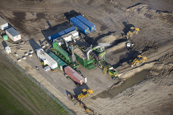 Oil Spill Thermal Desorption Clean Up In North Dakota
