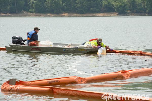 Duke Power Station Spill Clean-up