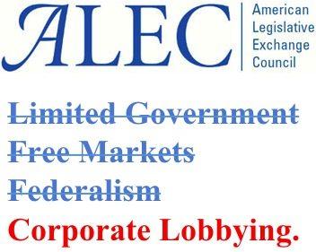 ALEC free markets