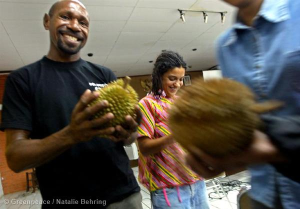 """Durian, the Indo-Malaysian King of fruits, is a controversial delicacy. It  smell is so strong the fruit has been forbidden from some hotels and  trains. At the same time, it is incredibly delicious. As put by Wallace, on The Malay Archipelago """"as producing a food of the most exquisite flavor it is unsurpassed""""."""