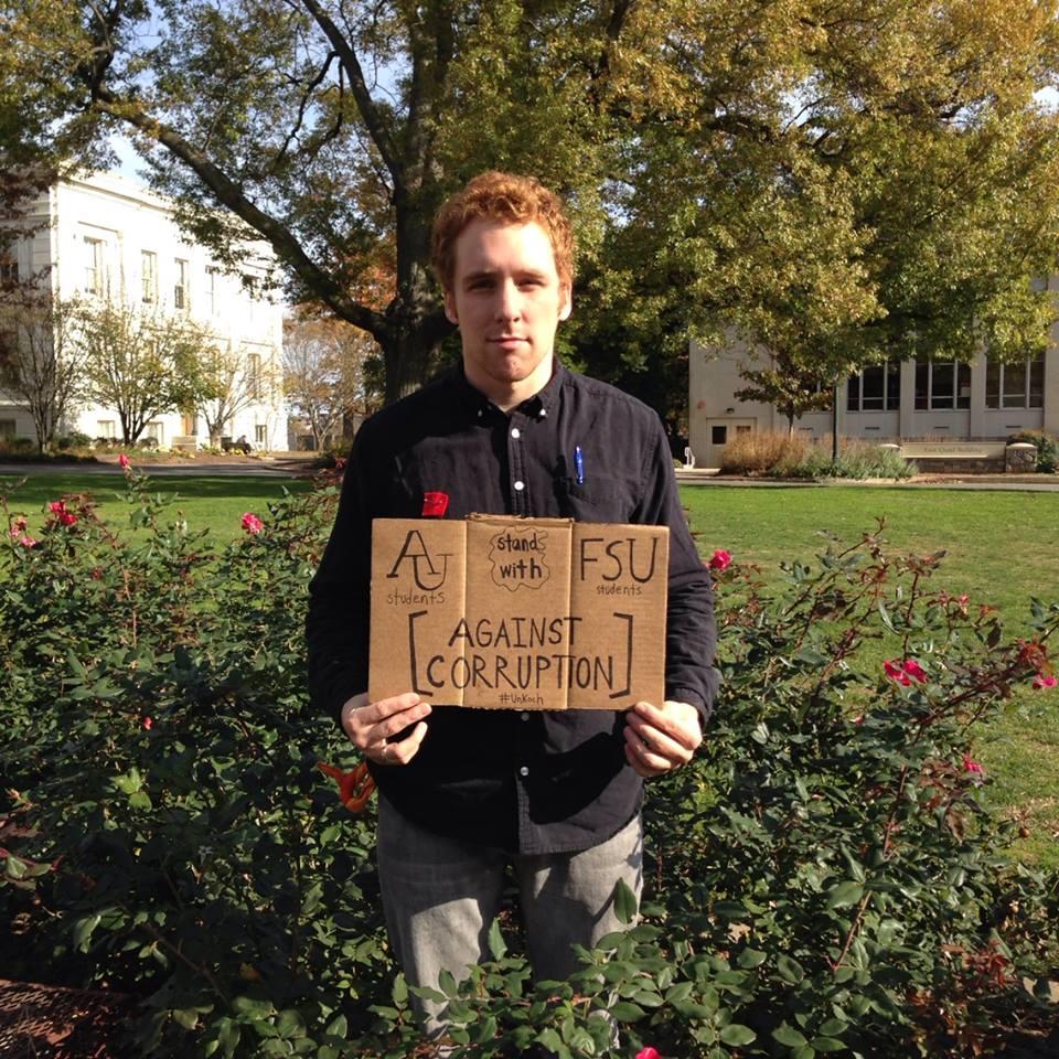 American University student
