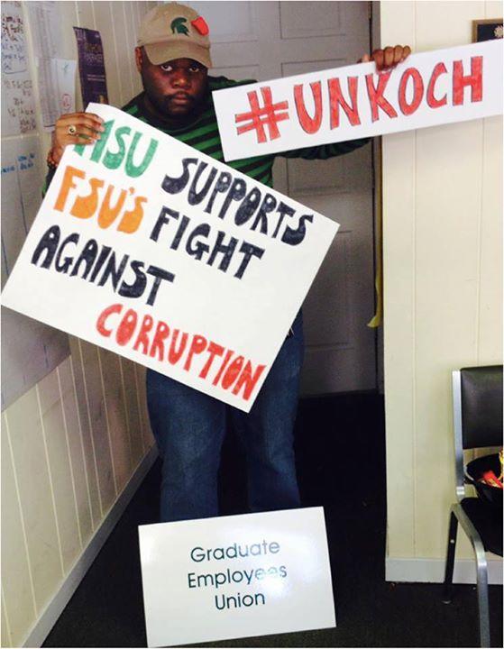 MSU Grad Employee Union UnKoch