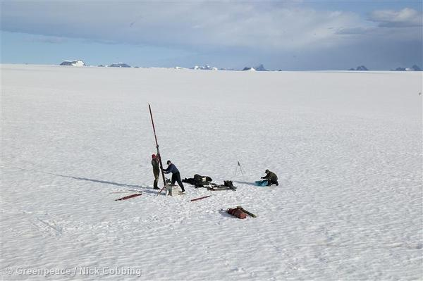 Measuring Climate Change in Greenland
