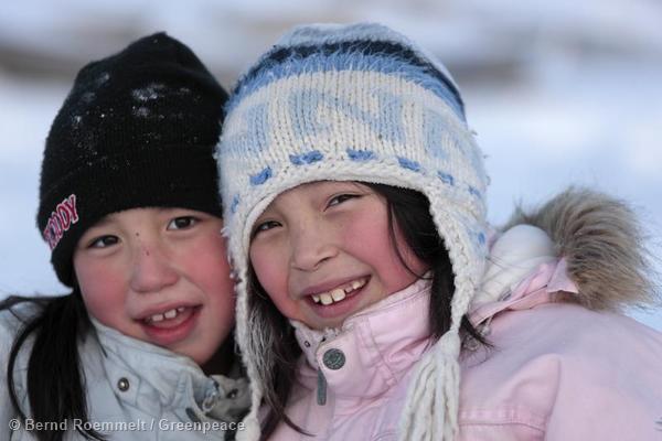 People in Qaanaaq Menschen aus Qaanaaq