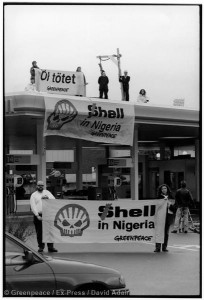 Toxics Occupation of Shell Petrol Station in ZurichToxic Besetzung Shell Tankstelle