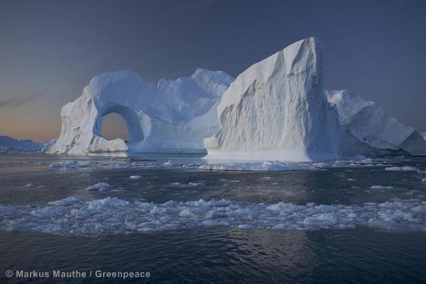 Iceberg in Greenland Groenland