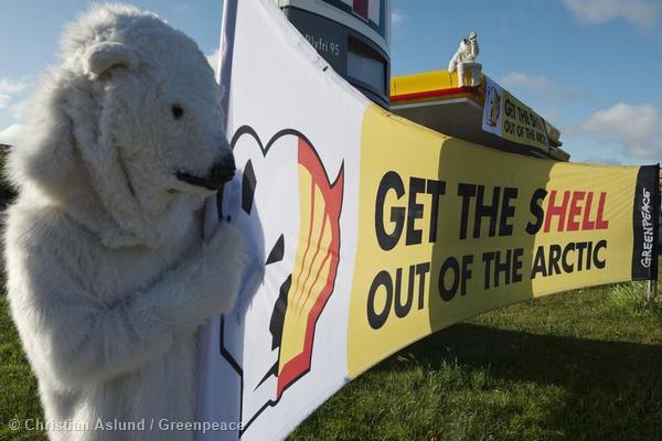 Shell Petrol Station Shutdown in Sweden