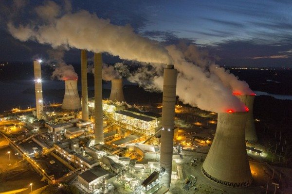 The Southern Company is not only polluting the environment with carbon and other dangerous emissions -- it's also polluting the debate over climate policy by funding bad science. Photo: National Geographic.