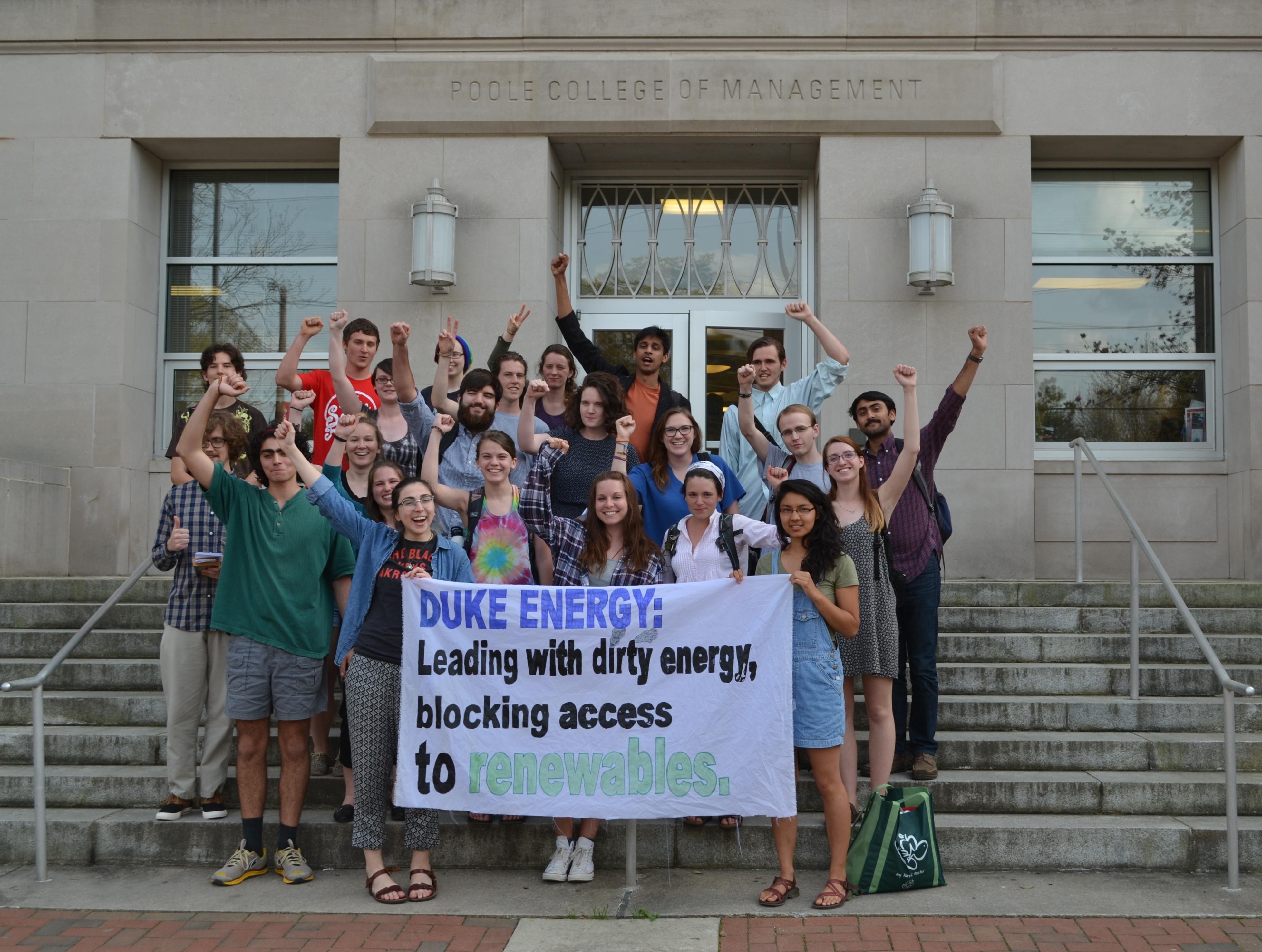 Nc Students Tell Duke To Stop Blocking Solar Greenpeace Usa