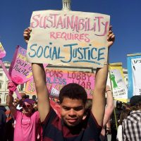 Sustainability Requires Social Justice