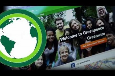 Volunteer with Greenpeace: Join Greenpeace Greenwire!
