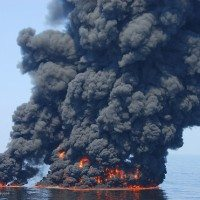 Gulf Oil Burns