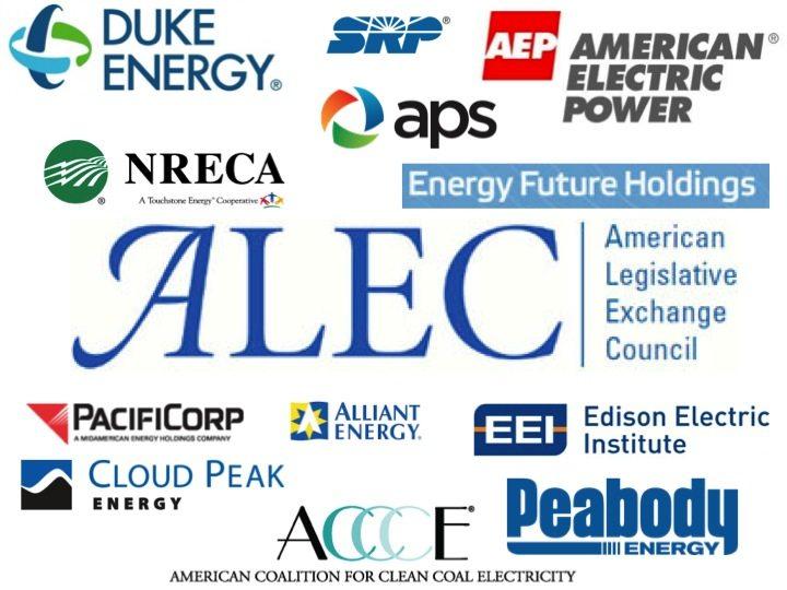 Duke Energy dumps American Legislative Exchange Council?